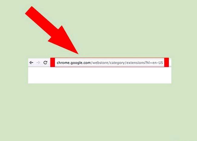 Google क्रोम में ऐड-ऑन चरण 1