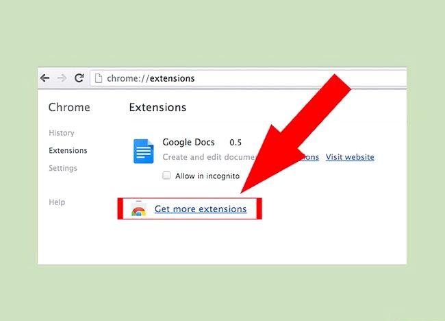 Google Chrome में ऐड-ऑन चरण 3