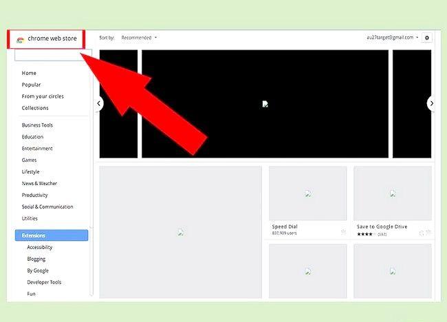 चरण 7 Google Chrome में Addons जोड़ें चरण 7