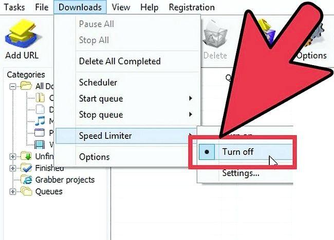 इंटरनेट डाउनलोड प्रबंधक (IDM) चरण 3 का उपयोग करते समय स्पीड अप डाउनलोड करने वाला चित्र शीर्षक