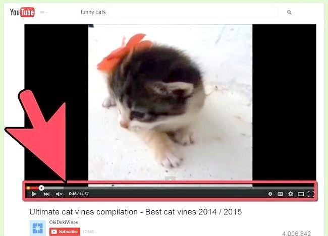 एक मैक पर एक यूट्यूब वीडियो डाउनलोड करें शीर्षक शीर्षक (सफारी विधि) चरण 2