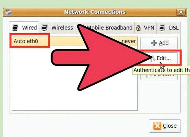 उबंटू चरण 2 में नेटवर्क सेट अप करें