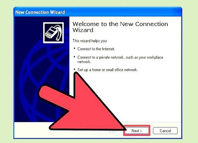 चित्र डायल अप इंटरनेट कनेक्शन चरण 6 सेट करें