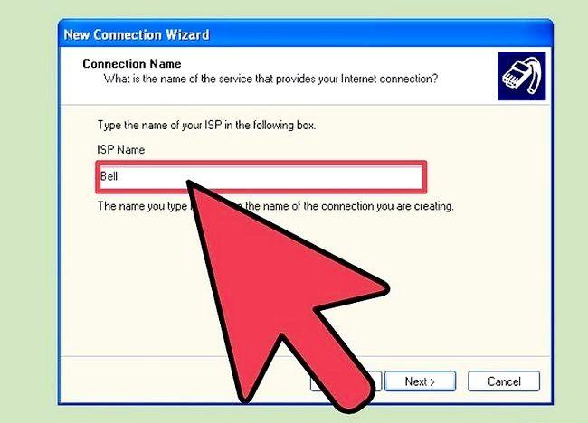 डायल अप इंटरनेट कनेक्शन चरण 10 के शीर्षक वाला चित्र