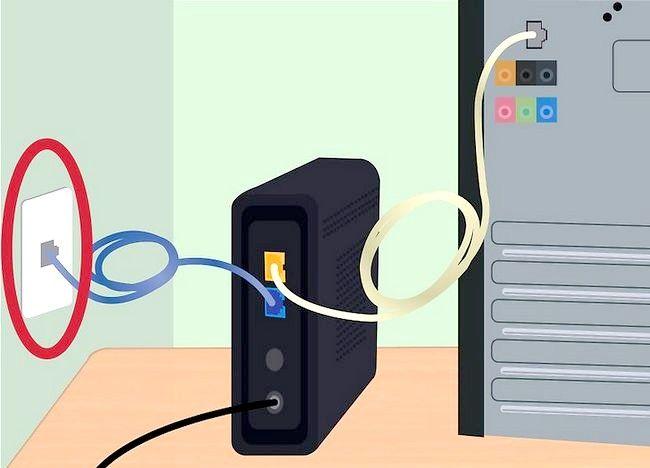 एक इंटरनेट कनेक्शन सेट करें शीर्षक चरण 2