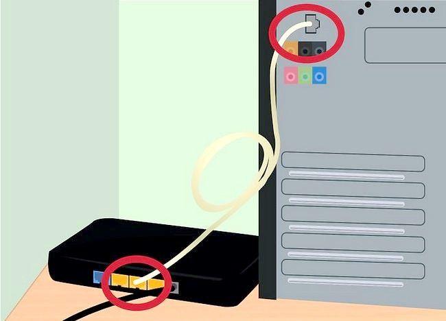 एक इंटरनेट कनेक्शन सेटअप शीर्षक से चित्र चरण 5