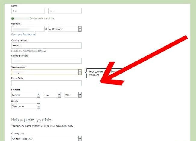चित्र का नाम एक ईमेल पता सेट करें चरण 18