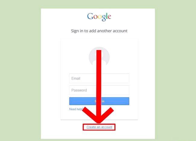 चित्र का नाम एक ईमेल पता सेट करें चरण 2