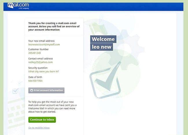 एक ईमेल पता सेट करें शीर्षक चरण 33