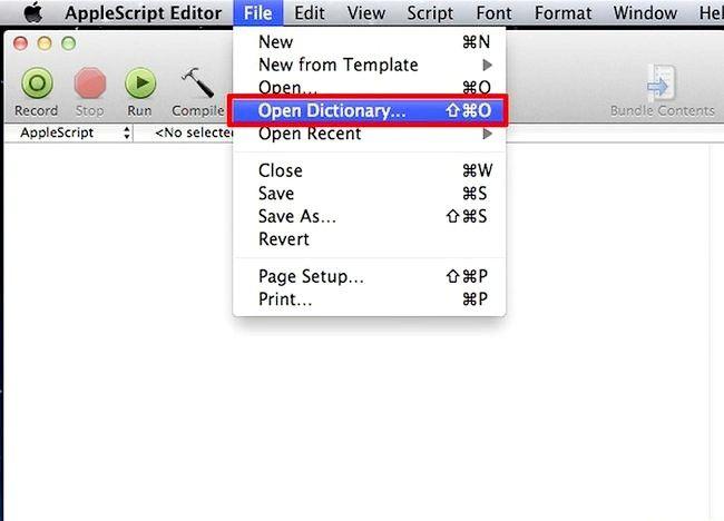 एप्पल स्क्रिप्ट चरण 2 में एक प्रोग्राम बनाएं शीर्षक वाला चित्र