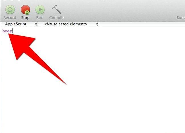 AppleScript चरण 5 बुलेट 1 में एक प्रोग्राम बनाएं शीर्षक वाला चित्र