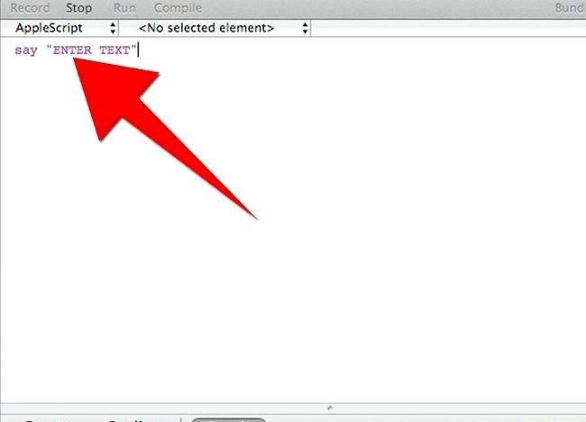AppleScript चरण 5 बुललेट 3 में एक प्रोग्राम बनाएं शीर्षक वाला चित्र
