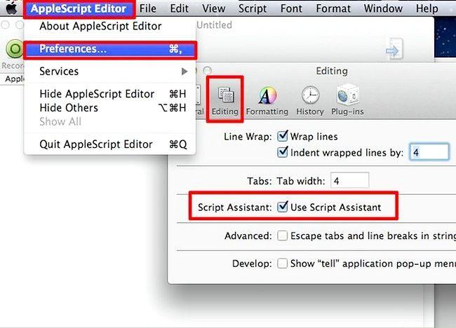 AppleScript चरण 6 में एक प्रोग्राम बनाओ चित्र बनाएं