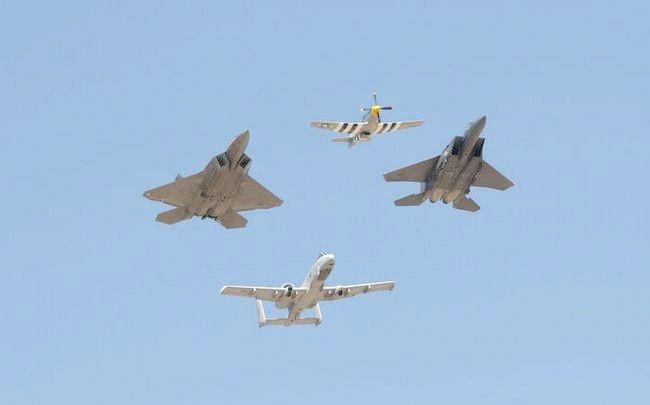 अमेरिकी सैन्य विमान नामकरण को समझना