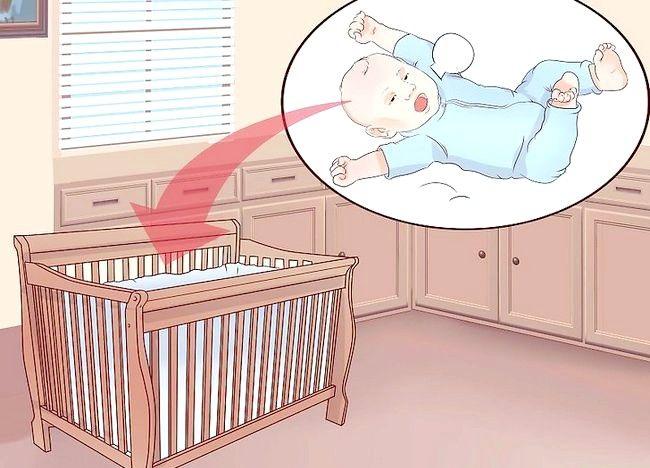 पॉट ए बेबी टू सो विद नर्सिंग चरण 6