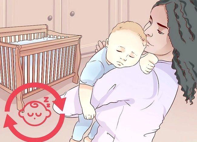 पॉट ए बेबी टू सो विद नर्सिंग चरण 8