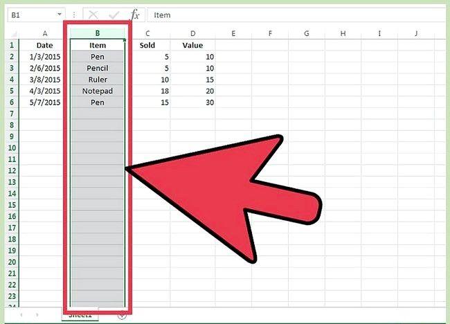 Excel में कॉलम कैसे स्थानांतरित करें