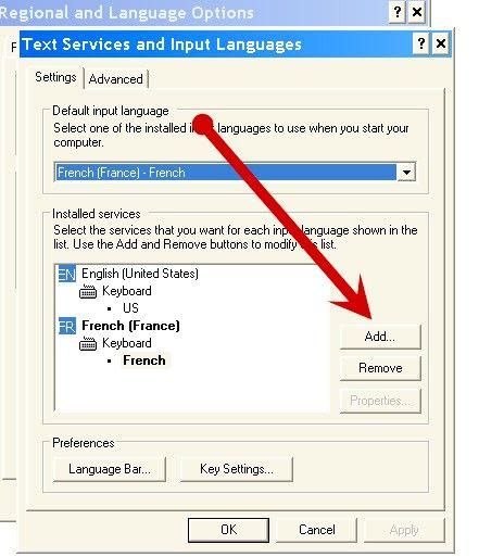 कैसे Windows XP में कीबोर्ड भाषा को बदलने के लिए