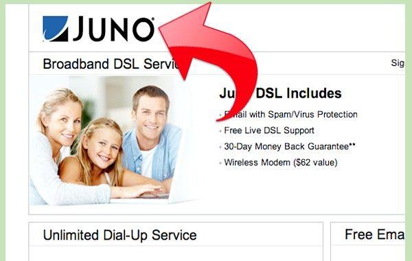 डायल अप सेवा को मुफ्त में जूनो का उपयोग कैसे करें