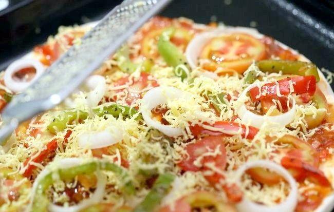 एक स्वस्थ पिज्जा बनाओ शीर्षक वाला चित्र 4