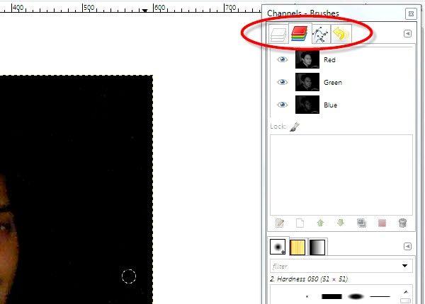 गैम चरण 3 का उपयोग कर फ़ोटो पर रेड आइज़ शीर्षक वाला चित्र