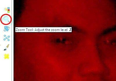 गीम के चरण 7 का उपयोग कर फ़ोटो पर रेड आइज़ शीर्षक वाला चित्र