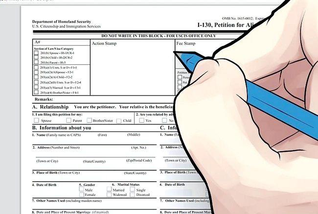 एक अमेरिकी नागरिक के विवाह के बाद एक ग्रीन कार्ड के लिए आवेदन कैसे करें