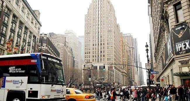 न्यूयॉर्क जाने के लिए कैसे करें