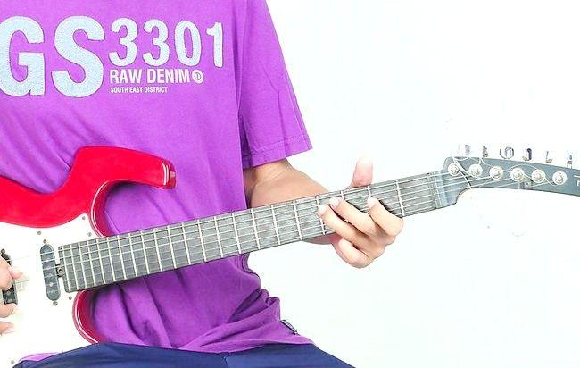 गिटार चरण 14 पर प्ले द ब्लूज़ नामक चित्र