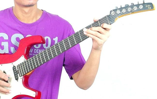 गिटार चरण 2 पर प्ले द ब्लूज़ शीर्षक वाला चित्र