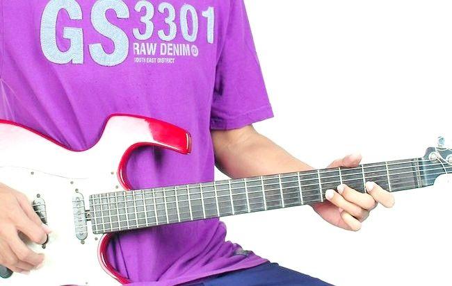 गिटार के चरण 4 पर प्ले द ब्लूज़ नामक चित्र