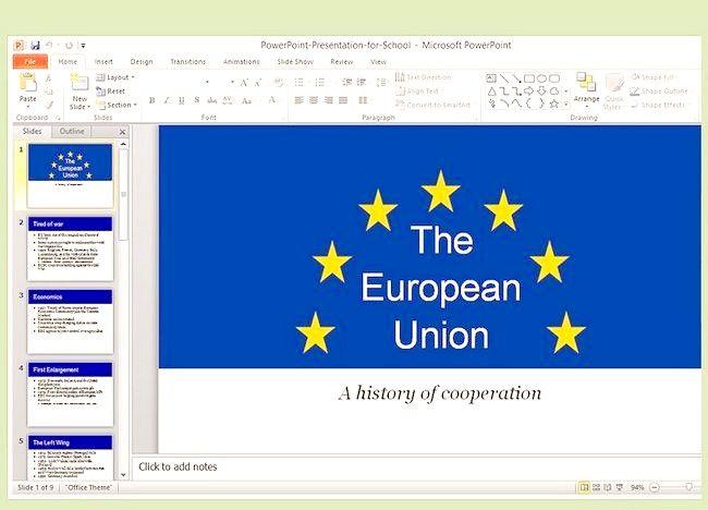 MP4 में एक वीडियो के लिए एक PowerPoint प्रस्तुति की तरह