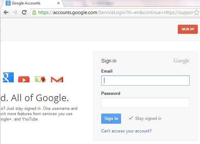 Gmail में एकाधिक साइन-इन का उपयोग करना