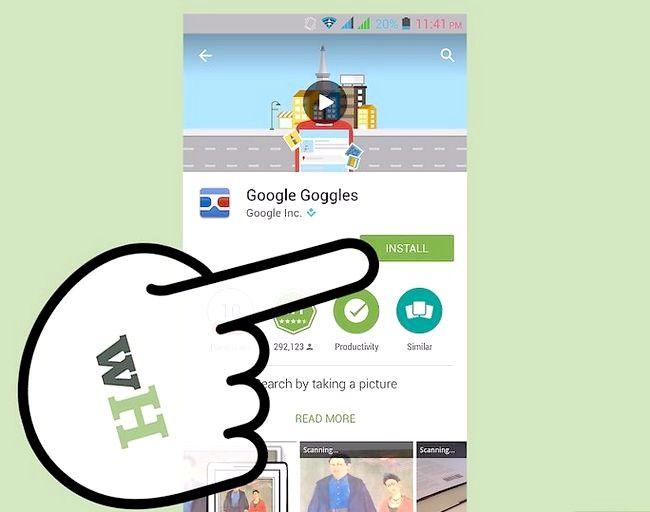 Google Goggles का उपयोग कैसे करें