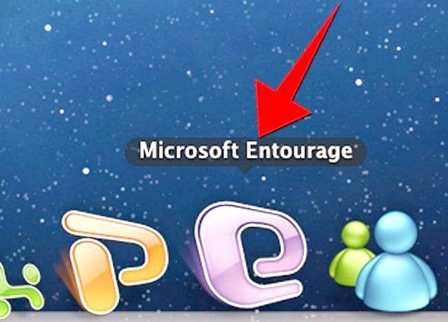 Mac के लिए Microsoft Entourage का उपयोग कैसे करें