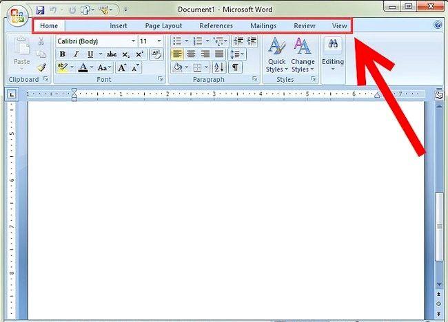 माइक्रोसॉफ्ट वर्ड 2007 का प्रयोग कैसे करें
