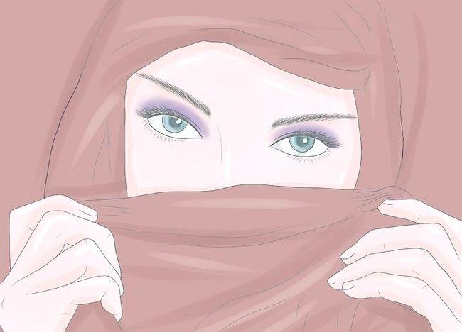 पिक्चर शीर्षक से एक हिजाब चरण 4 पहनें