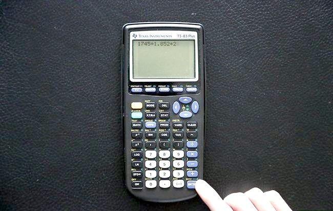 टीआई 83 प्लस ग्राफ़िंग कैलकुलेटर का उपयोग कैसे करें