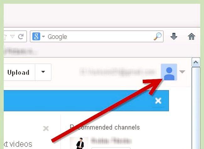 अपनी यूट्यूब प्रोफ़ाइल की पृष्ठभूमि के रूप में छवि का उपयोग करना