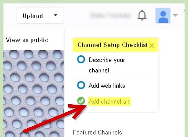 आपका यूट्यूब प्रोफाइल पृष्ठभूमि चरण 3 के रूप में चित्र का प्रयोग करें शीर्षक वाला चित्र