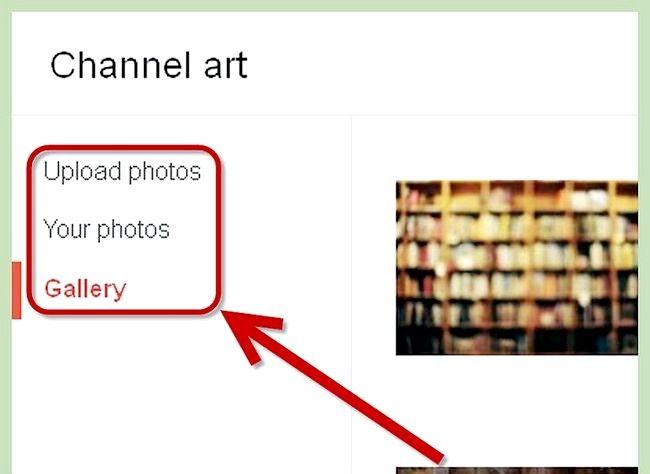 आपका यूट्यूब प्रोफाइल पृष्ठभूमि चरण 4 के रूप में चित्र का प्रयोग करें शीर्षक वाला चित्र